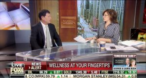 <sub>As seen in Fox Business</sub><br>New app streamlining corporate wellness programs